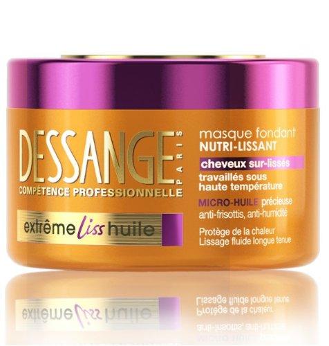 Dessange Masque Extrême Liss Huile 250 ml - Lot de 2
