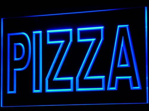 Enseigne Lumineuse i635-b PIZZA Shop Cafe Light Sign
