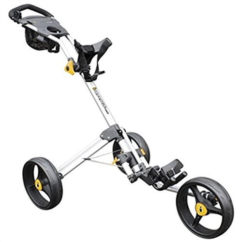 Masters Two Icart Chariot de golf, 3 roues 2 clics Argent