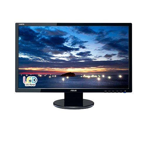 """Asus VE247H Moniteur LED 23,6"""" (59,9 cm) DVI, HDMI, VGA Haut parleurs 1920 x 1080 Noir"""