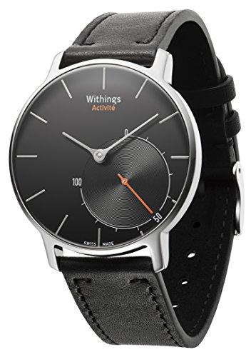 Withings Activité - Montre Suisse Tracker d'activité et de sommeil - Noir