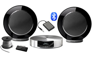 Elipson Music Center   Planet L   câble   Bluetooth - Noir