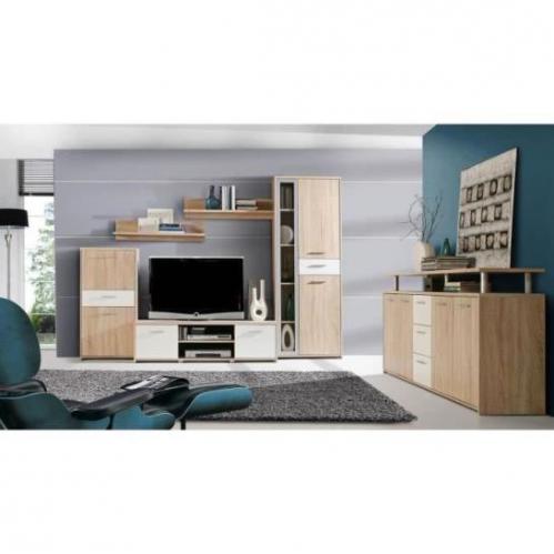 Titre produit prix meilleur prix for Finlandek meuble tv mural katso