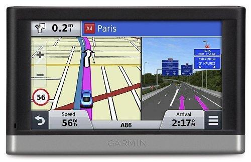 Garmin Nüvi 2597 LMT - GPS Auto écran 5 pouces - Appel mains libres et commande vocale - Info Trafic et carte (45 pays) gratuits à vie