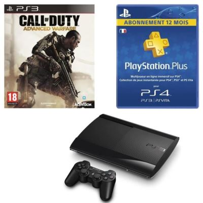 Console PS3 Slim Call Of Duty   Abo 12 Mois