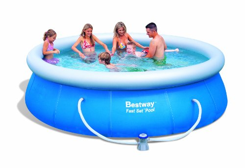Bestway - 057166 - Jeu de Plein Air - Piscine - Fast-Set - 366 x 91 cm