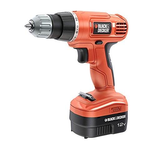 Black&Decker EPC 12 CA QW Perceuse Simple Sans Fil (12V/1.2A)