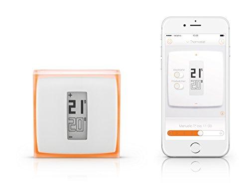 Netatmo NTH01-DE-EC Thermostat pour smartphone