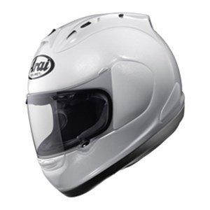 Nouveau 2015 ARAI RX-7 GP moto solide casque blanc métallique