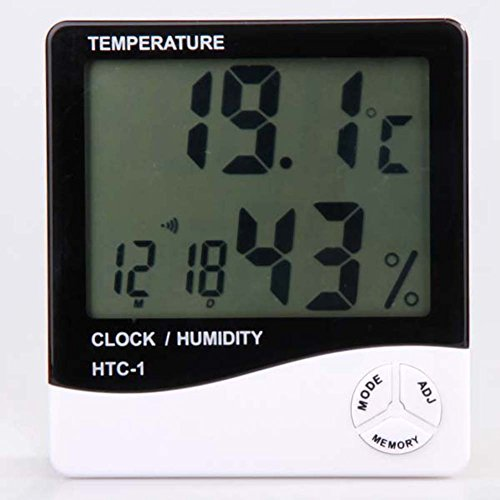 Thermomèthe et humidité LCD digital