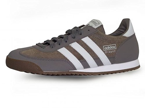 adidas Originals Dragon, Baskets mode homme - Gris (Fer/Gricla/Fer), 41 1/3 EU