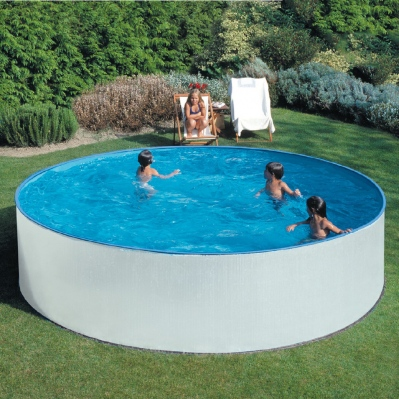 piscine hors sol aqualux 4 5 m paroi acier 12 m3 prix 0. Black Bedroom Furniture Sets. Home Design Ideas