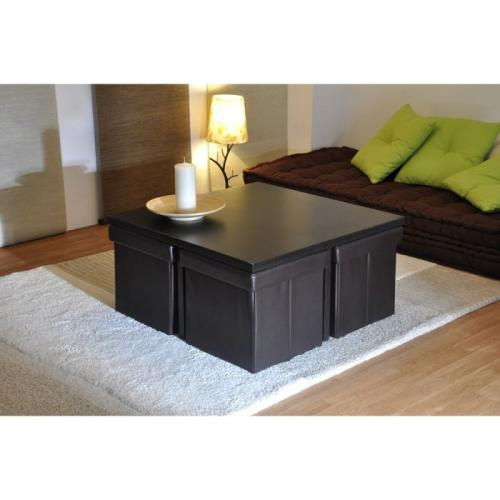 trevise table basse prix 39 99. Black Bedroom Furniture Sets. Home Design Ideas