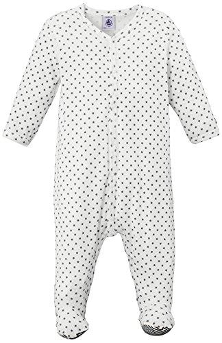 Petit Bateau - Grenouillère - À étoiles - Mixte bébé - Multicolore (Lait/Maki) - FR: 6 mois (Taille fabricant: 6 mois)