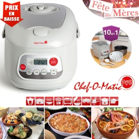 Multicuiseur programmable chef o matic pro prix 34 90 - Chef o matic carrefour ...