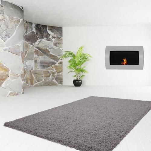 Tapis de salon shaggy trendy 30mm 120x160 cm gris prix 0 - Tapis de salon gris ...