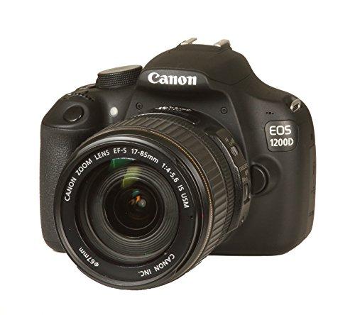 Canon EOS 1200D Appareil photo reflex 3 - 18 Mpix Noir   Objectif 17-85 mm