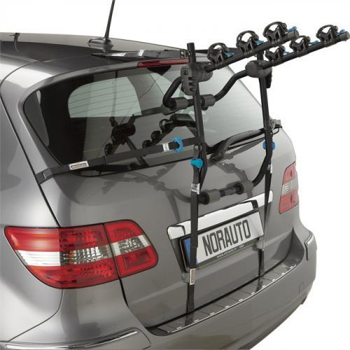 Porte 3 vélos de coffre suspendu Norbike 3