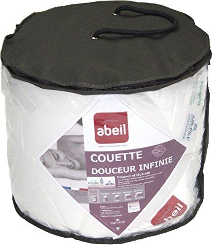 Abeil 15000000536Couette Douceur Infinie Légère Polyester Blanc 220 x 240 cm
