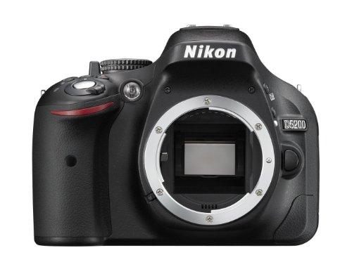 NIKON D5200 Boitier Nu Appareil Photo Numérique Reflex 24.1 Mpix Noir