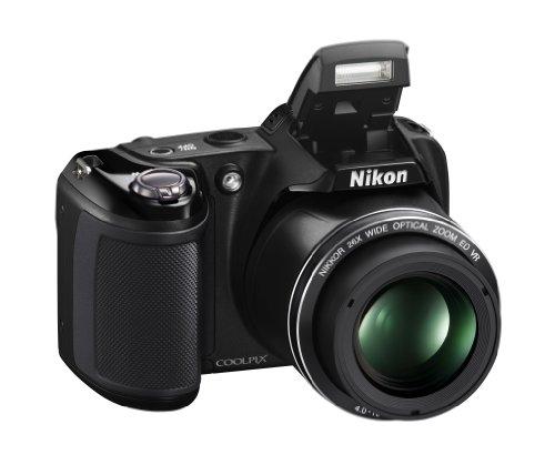 """Nikon CoolpixL330 Appareil photo numérique compact 20.2 Mpix Ecran 3"""" Zoom optique 26x Noir"""
