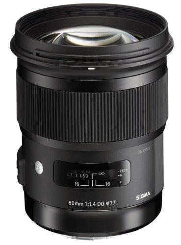 Sigma Objectif 50 mm F1,4 DG HSM ART - Monture Canon Poids 815g