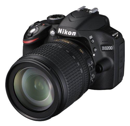 Nikon D3200 Appareil photo numérique réflex 24,2 Mpix Kit Objectif AF-S DX 18-105 mm VR