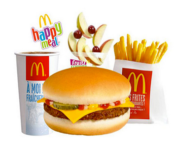 1 Happy Meal OFFERT pour 1 menu Maxi Best Of acheté