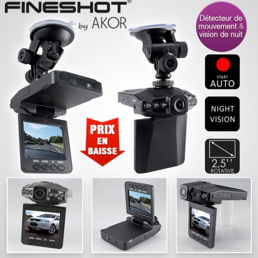 Caméra embarquée de voiture Infrarouge Fineshot