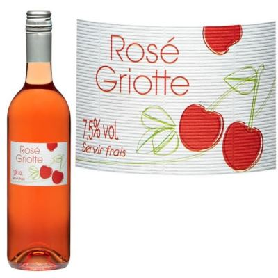 Rosé Griotte Boisson aromatisé