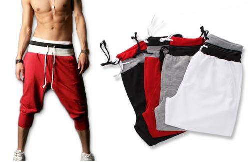 Short pantacourt de sport pour homme, coloris au choix