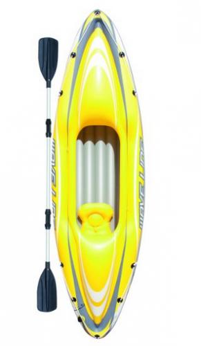 Bestway Wave Line Kayak 280 x 75 x 39 cm 1 adulte   1 Pagaie Longueur 218 cm