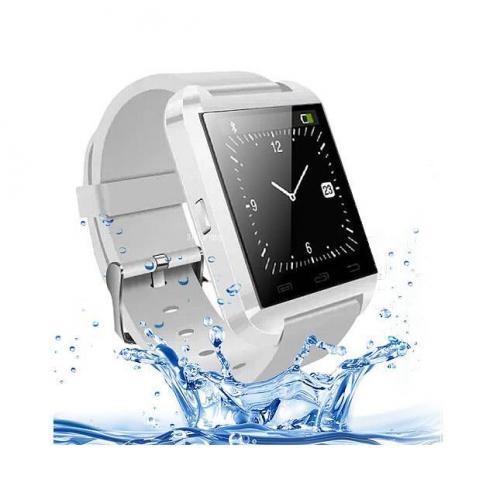 Montre Connectée U-Watch U8S Etanche IP64 - Blanc