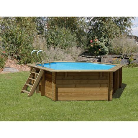 Piscine bois sunbay for Prix des piscines en bois