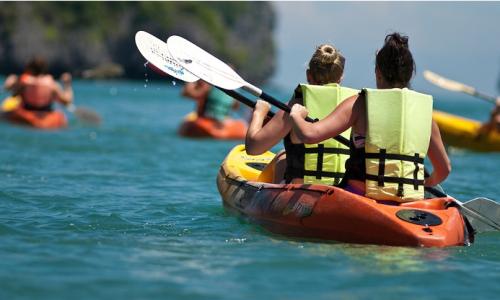 Demi-journée de kayak en mer pour 2 personnes