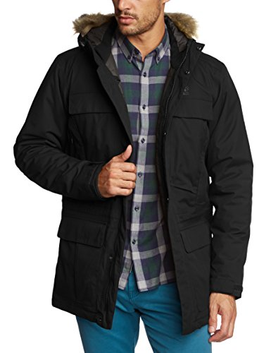Jack Wolfskin Halifax Parka Men Parka imperméable Homme Black M