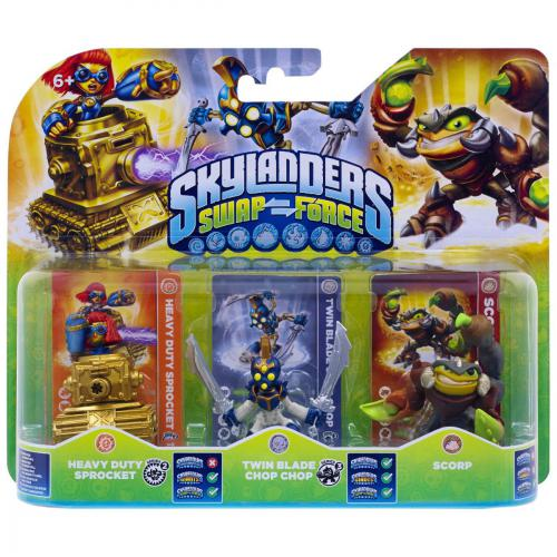 Triple Pack Skylanders Swap Force