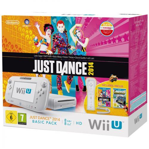 Console Wii U 8 Go Blanche