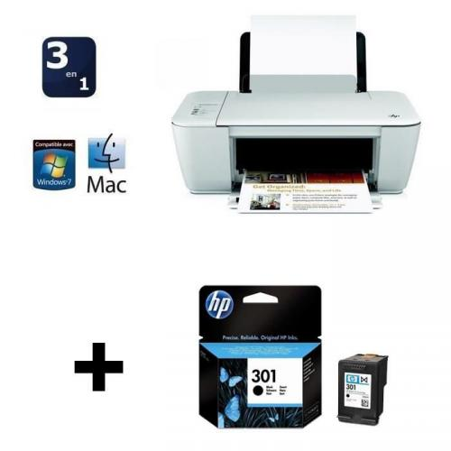 pack imprimante hp deskjet 1512 et cartouche hp n 301 noire prix 34 90. Black Bedroom Furniture Sets. Home Design Ideas