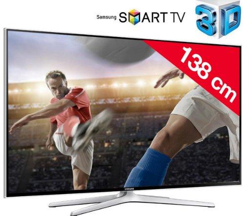 SAMSUNG UE55H6400 - Téléviseur LED 3D Smart TV + Lunettes 3D Active SSG-5100GB