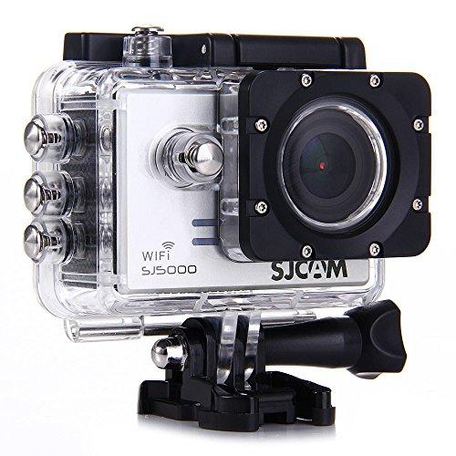 """SJCAM SJ5000 WiFi Sport Caméra Novatek 96655 14MP FHD1080P 170 ° grand angles 2.0"""" TFT LCD étanche Caméscope HD voiture DVR Avec un ensemble complet de Accessoires - Argent"""