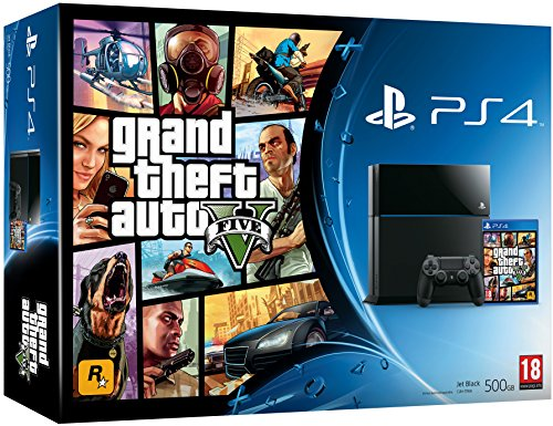 Console PS4 500 Go + GTA V