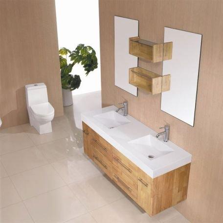 Mobilier for Mobilier de salle de bain en bois