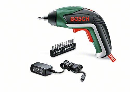 Bosch Visseuse sans fil IXO V Classique avec chargeur et 10 embouts de vissage 06039A8000