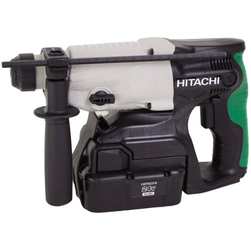 hitachi hitachi dh24dvc (2 x 2.0 ah) - perforateur à percussion sur batterie sds-plus