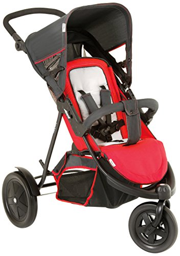 Hauck Poussette Multi-Places Freerider, rouge