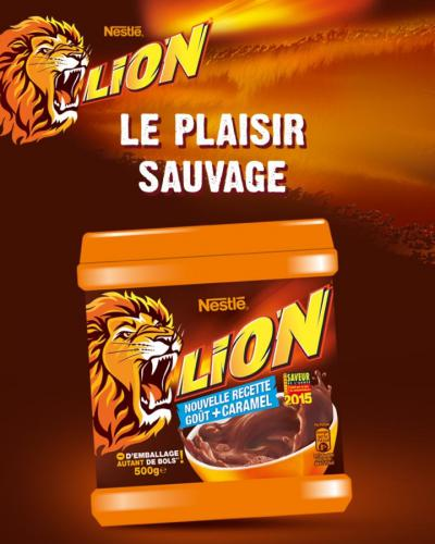 LION® poudre cacaotée 500g