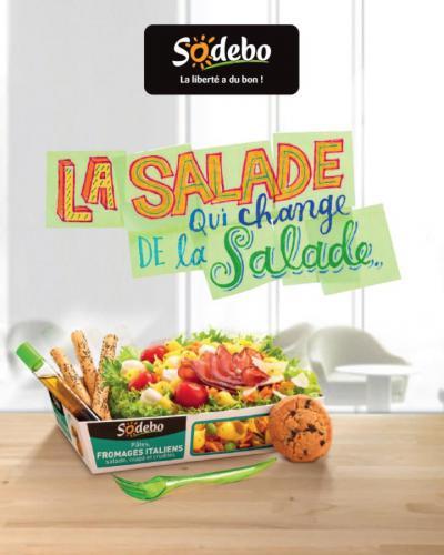 Salade et Taboulé  Sodebo