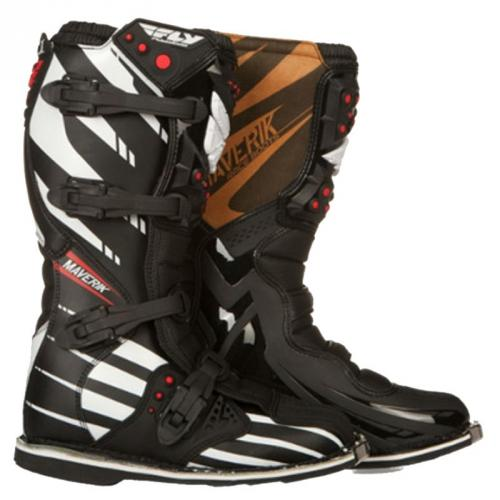 BOTTES CROSS FLY MAVERICK BLACK/WHITE 2015