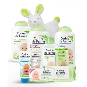 Offre découverte de 10 produits Soins et Toilette bébé
